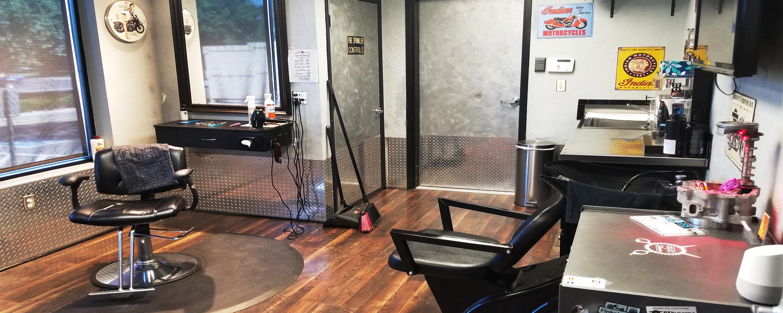 Salon Barber Shop Tri City Cycle Loveland Colorado